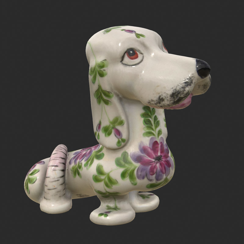 Ceramic-dog