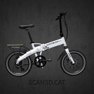 Littium Ibiza white folding e-bike