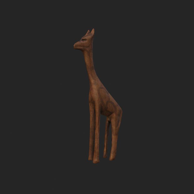 Girafa-de-fusta