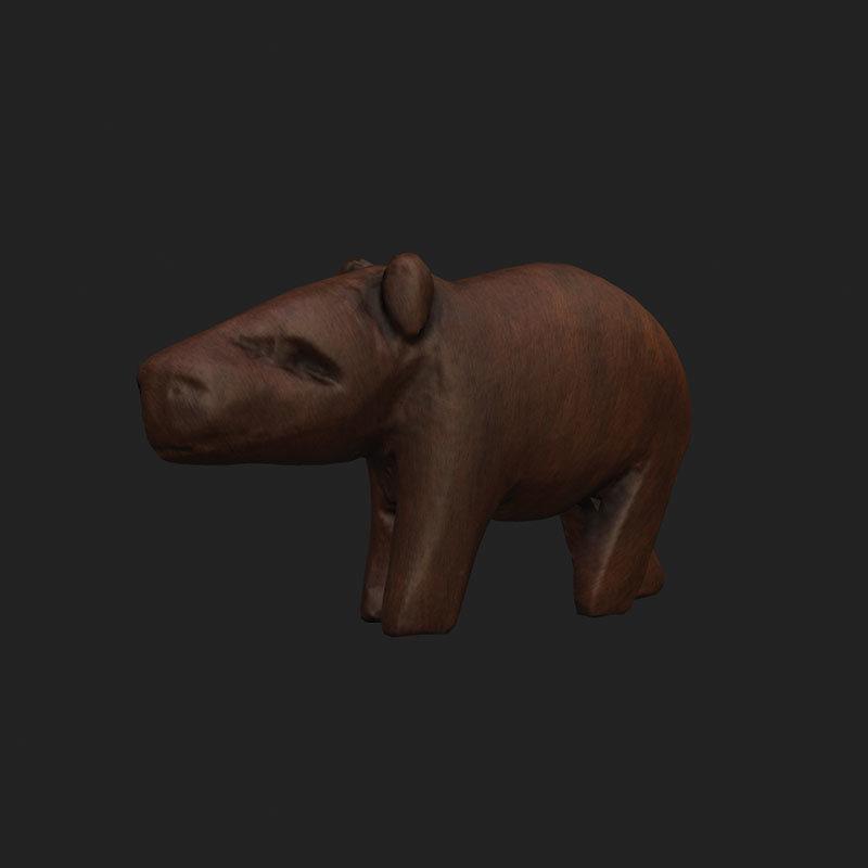 Miniatura-hipopotam-3d