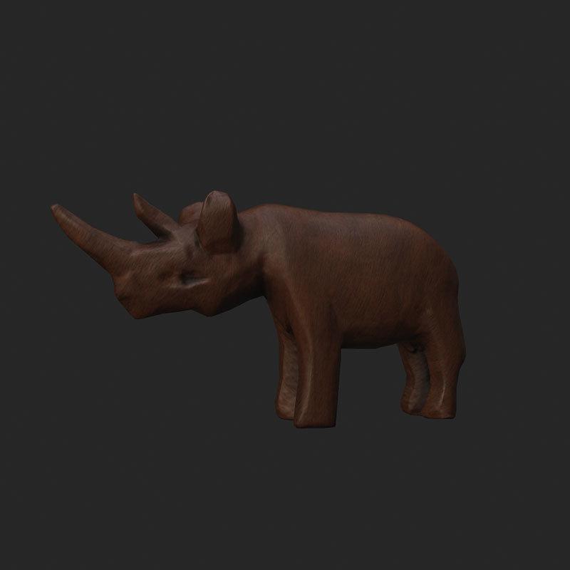 Rinoceront-de-fusta